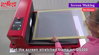 Digital Screen Making for T shirt, T-Shirt Silk Screen printing and easy registration
