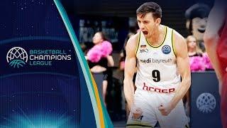 David Stockton Highlights - medi Bayreuth v Filou Oostende - Basketball Champions League 2018/19