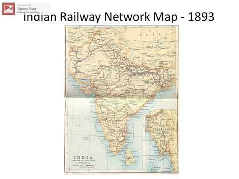 History of Rail Transport in India1