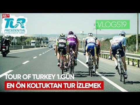 En ön Koltuktan Tour Of Turkey - 1. Gün / Asla Durma Bisiklet Vlog 519