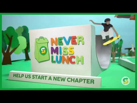 HELP KIDS TO NEVER MISS LUNCH™ | SUBWAY®