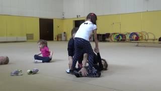 Офп, гимнастика, растяжка #фигуристы дети первый год обучения #miss Kate Gymnastic. Figure skater. 4