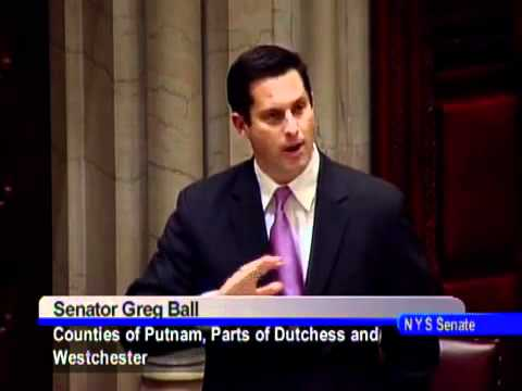 Senator Greg Ball comments on the nomination of Jerome Hauer