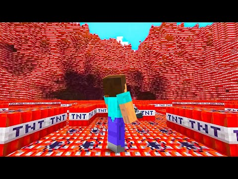I Blew Up 1,000,000 Blocks In Minecraft