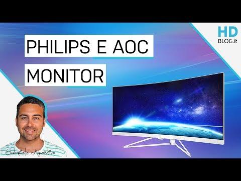 MONITOR PHILIPS E AOC AGON 3: i nuovi modelli 2018