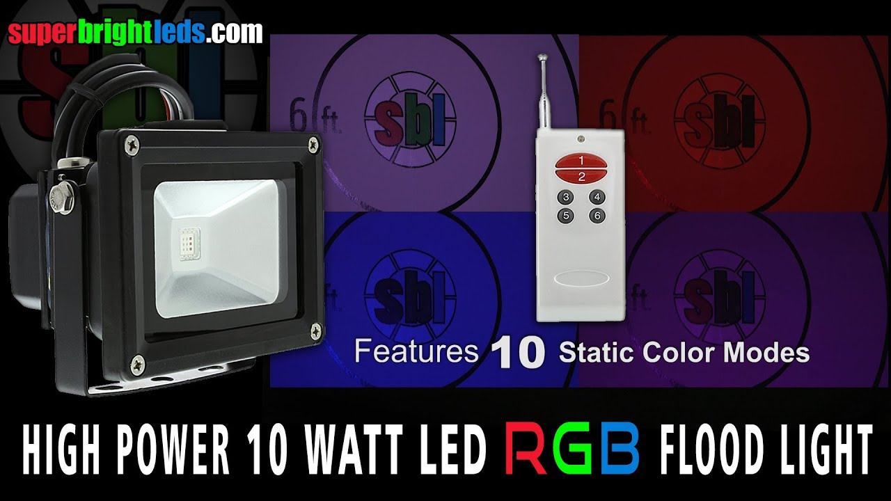 Led Flood Light Color Changing Colorchanging Rgb Bulb Par38 02
