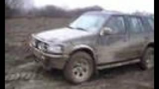 Opel Frontera action