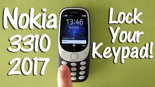 Nokia 3310 2017 Tips and Tricks to Lock and unLock the Keypad