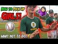 HOW TO PICK UP GIRLS! (Baseball Player Edition)
