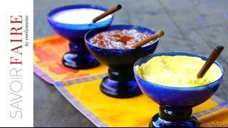 How to make Alioli, Chipotle Crema and Guava + Jalapeno Sauce   SAVOIR FAIRE by enrilemoine