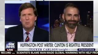 OUTFOXED! HuffPost Writer Alex Mohajer Embarasses Tucker Carlson on Fox News