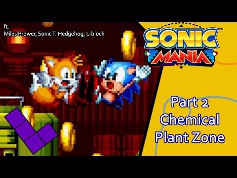 Sonic Mania Encore DLC Chemical Plant  