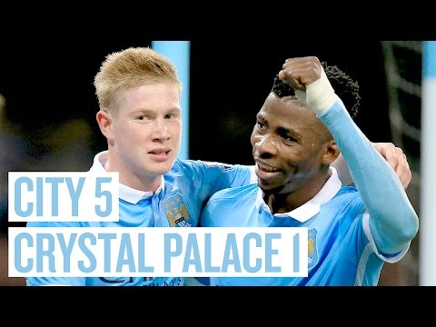 QUARTERS AWAIT | City 5-1 Palace | Highlights