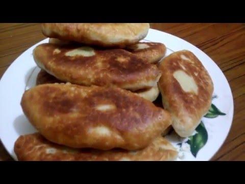 Быстрый рецепт Жаренные пирожки с картошкой( наш семейный рецепт теста)