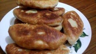 Жаренные пирожки с картошкой!!!( наш семейный рецепт теста!!!)