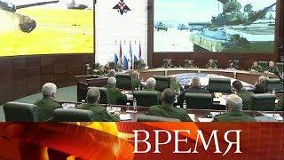 Сергей Шойгу: На учениях «Восток - 2018» войска показали высокую слаженность.