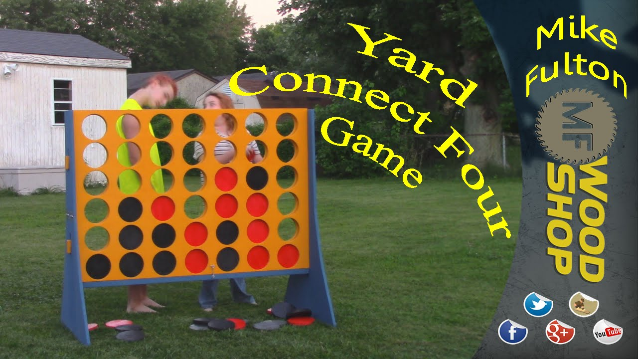 Yard size connect four game youtube solutioingenieria Image collections