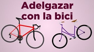 Adelgazar con la bici: cómo usar la bicicleta para bajar de peso | APERDERPESO.COM