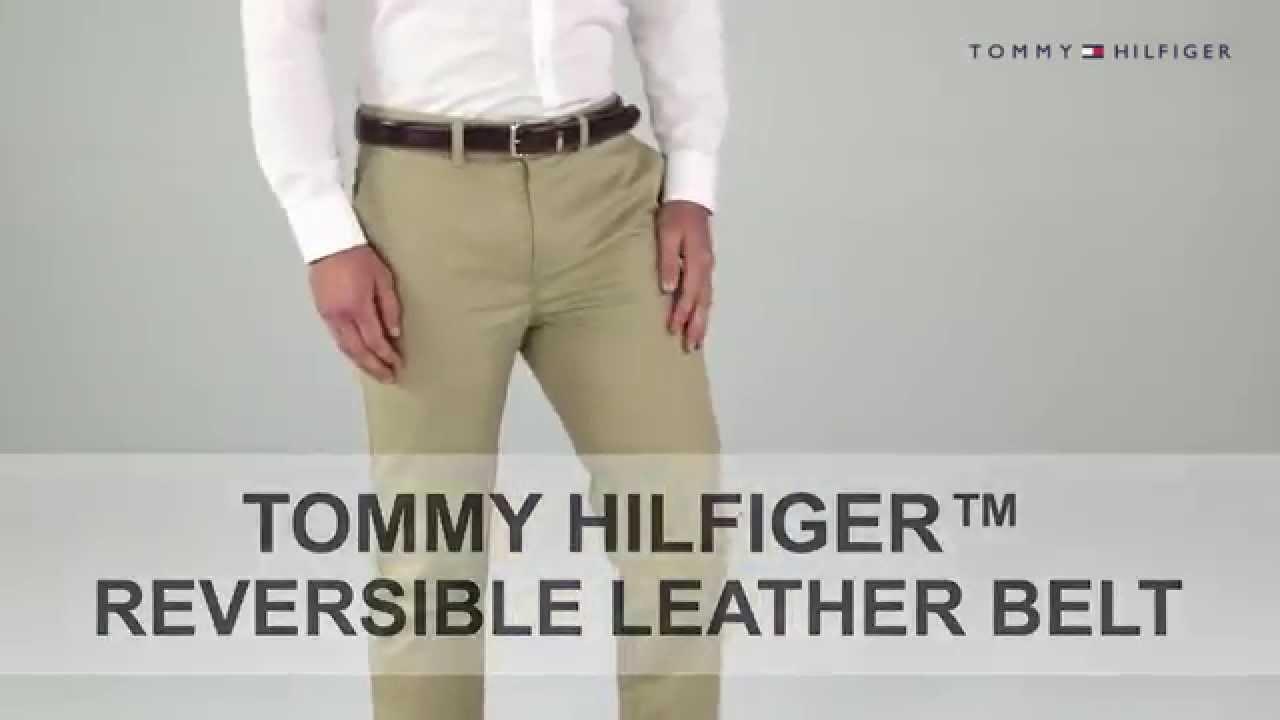 Tommy Hilfiger mens Casual Reversible Belt Belt
