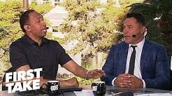 Oscar De La Hoya gives GGG-Canelo prediction, talks presidential run | First Take | ESPN