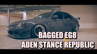 Bagged Civic EG8 Aden Stance Republic