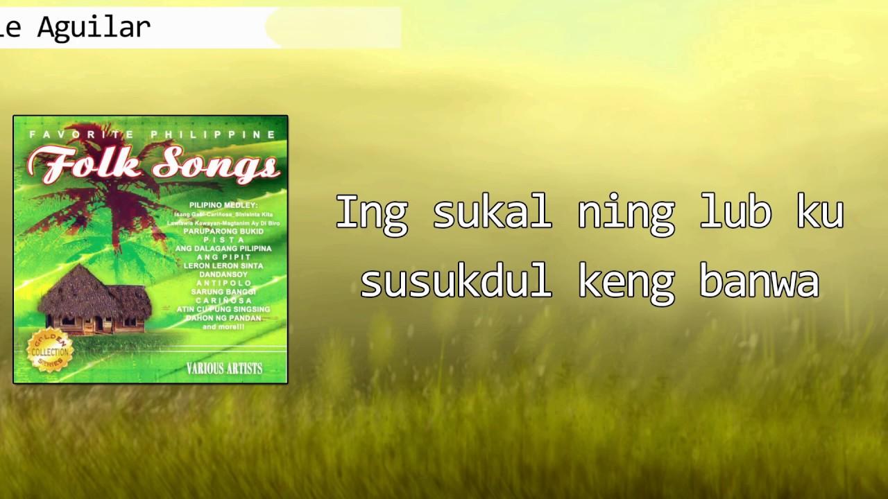 Lyrics atin cu with singsing notes pung Atin Cu