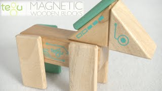 Future Robo Magnetic Wooden Blocks From Tegu
