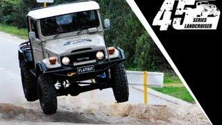 V8 45 Series Landcruiser Test