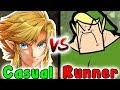 Casual VS Speedrun - THE FOREST TEMPLE (Zelda Twilight Princess Dungeon)