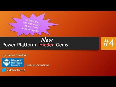 Power Platform: New Gems Announced At 2019 Ignite