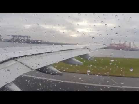 Qantas Airbus A330 Sydney to Melbourne