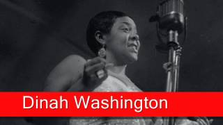 Watch Dinah Washington Lover Man video