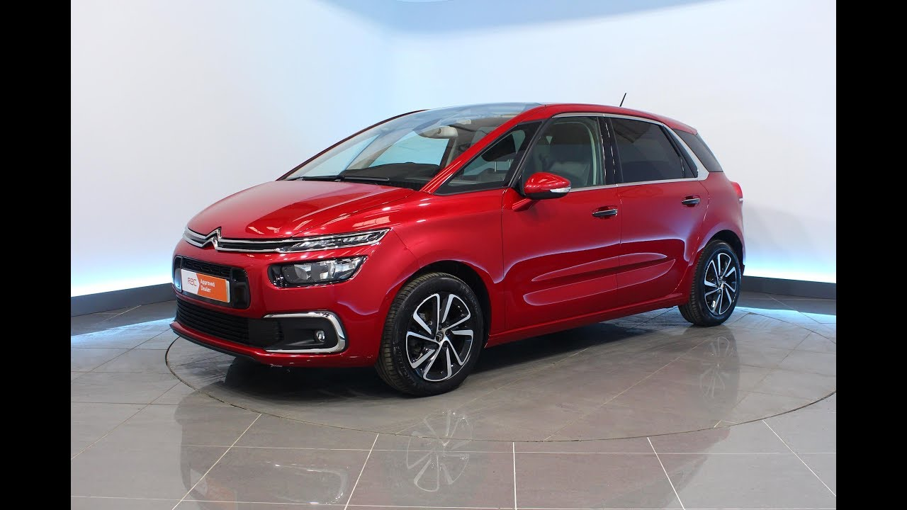 Citroen C4 Picasso 1 6 Bluehdi Flair Eat6 S S 5dr Youtube