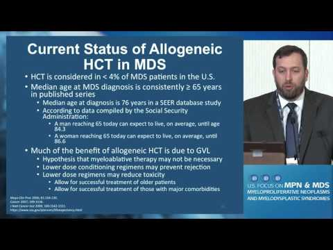 Stem Cell Transplant Approaches to MDS
