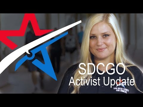 SDCGO Activist Update with Jena - August