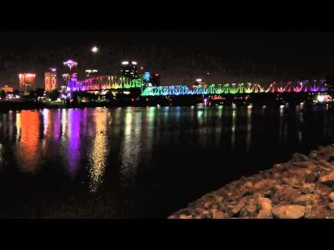 Little Rock's Bridges Get Lit