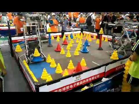 VEX In the Zone China match 2017-2018
