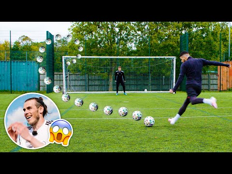 INSANE KNUCKLEBALLS ft: GARETH BALE 👊⚽️😱 Thumbnail