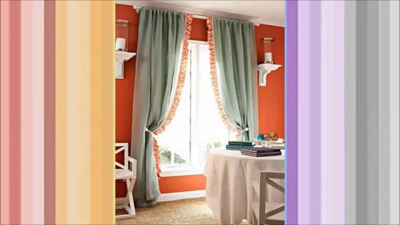 Ideas para hacer cortinas modernas que combinen con la decoracion  YouTube