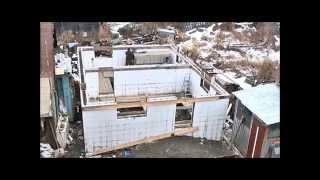 построить современный энергосберегающий дом!!!!(приобрести несъёмную опалубку (лего блоки), плиты перекрытия, утеплитель для труб (скорлупа) и многое другое..., 2015-05-20T17:09:42.000Z)