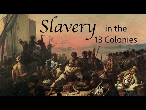 Slavery in the 13 Colonies (Story Time with Mr. Beat)