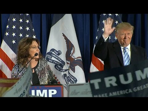 Full video: Sarah Palin endorses Donald Trump