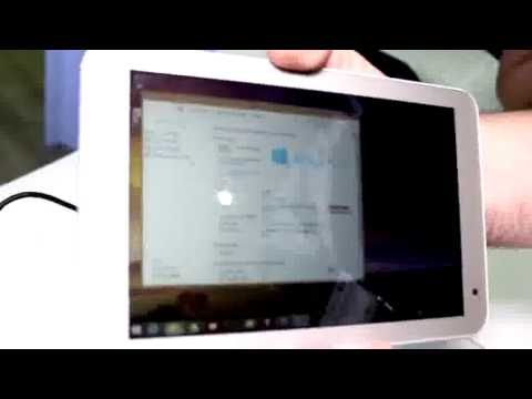 Toshiba Encore 2 WT8 Windows 8.1 Tablet: Hands On [ENG]