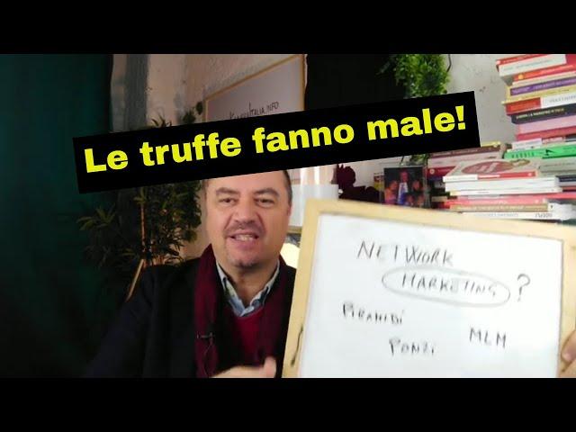 Network Marketing, Ponzi, Piramidi e MLM (Educazione Finanziaria by Coach Sebastiano for Kuvera)