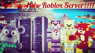 Cool Squad War Roblox Server Bande-annonce
