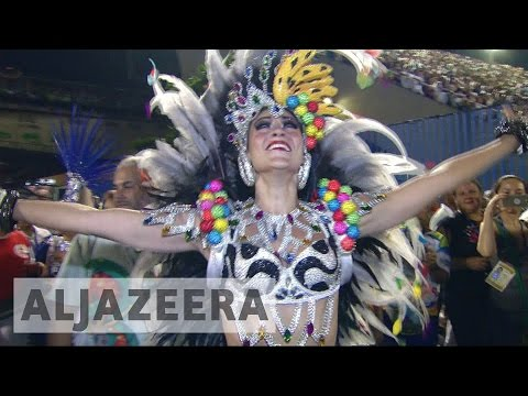 Samba schools get creative with politics at Rio carnival 2017