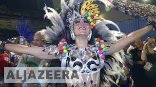 Samba schools get creative with politics at Rio carnival 2017