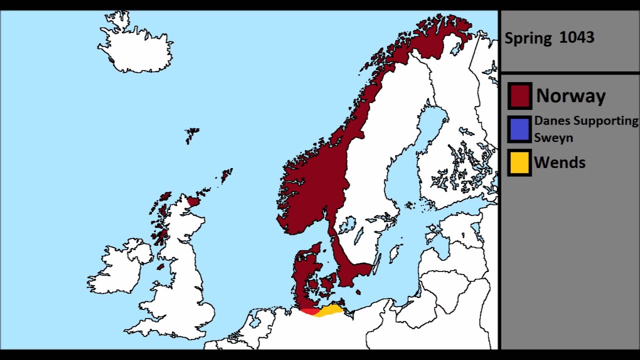 The Norwegian Claim On Denmark And Invasion Of England YouTube - Norway england map