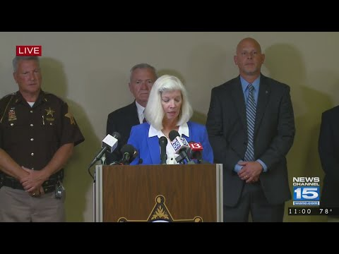 April Tinsley News Conference