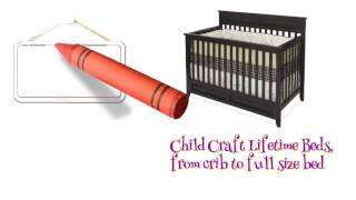 Child Craft Crib Conversion Kit
